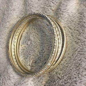 Jewelry - Silver bangle bracelets